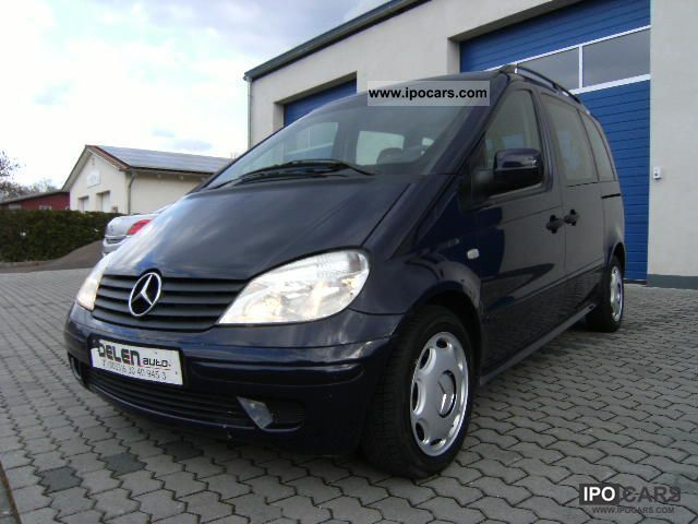 2003 mercedes benz cdi vaneo 1 7 family car photo and specs. Black Bedroom Furniture Sets. Home Design Ideas