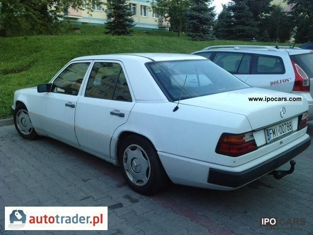 Mercedes-Benz  W124 1987 Liquefied Petroleum Gas Cars (LPG, GPL, propane) photo