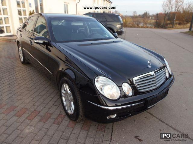 2004 mercedes benz e 240 elegance car photo and specs for Mercedes benz 240