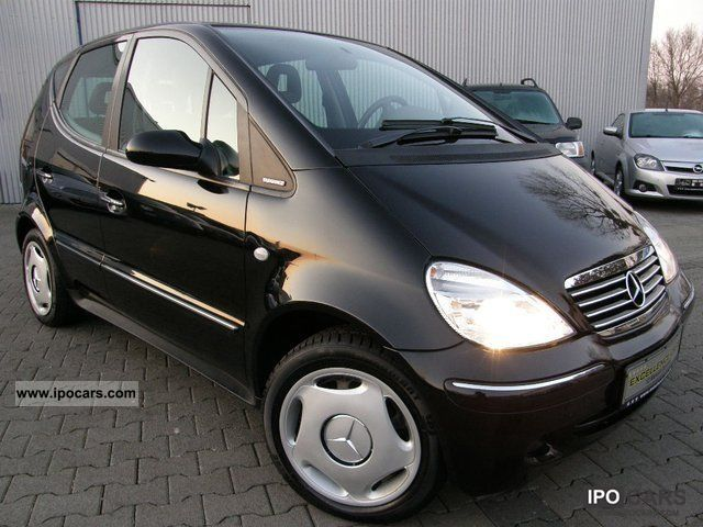 2002 mercedes benz a 160 elegance super care car for Mercedes benz care