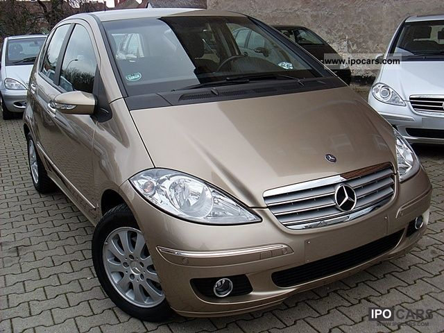 2005 mercedes benz a 170 elegance automatic 1 possession car photo and specs. Black Bedroom Furniture Sets. Home Design Ideas