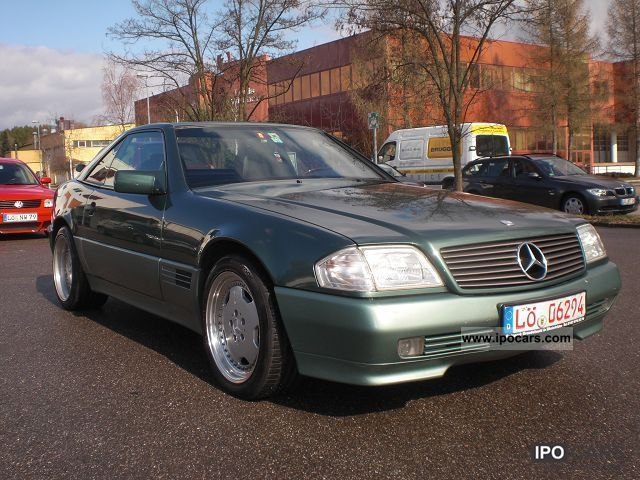 1993 mercedes benz sl 320 navi leather alu hardtop care car photo and specs. Black Bedroom Furniture Sets. Home Design Ideas