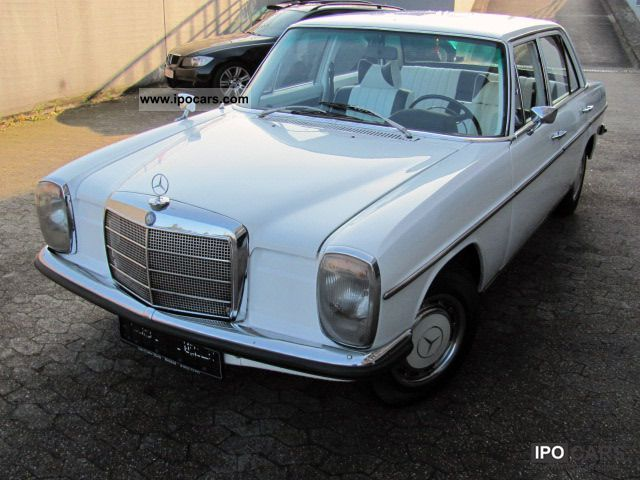 Mercedes-Benz  200 W115 / 8 H-Zulassung.LEDER 1972 Vintage, Classic and Old Cars photo
