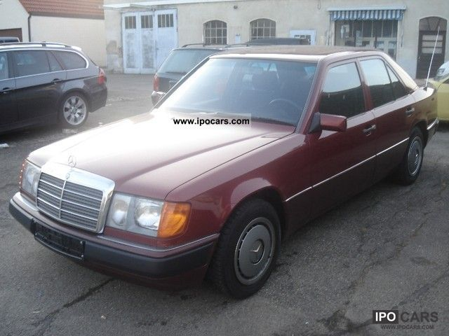 1995 Mercedes-Benz  200 E W124 Limousine Used vehicle photo