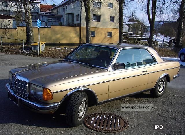 1983 mercedes benz w123 coupe car photo and specs. Black Bedroom Furniture Sets. Home Design Ideas