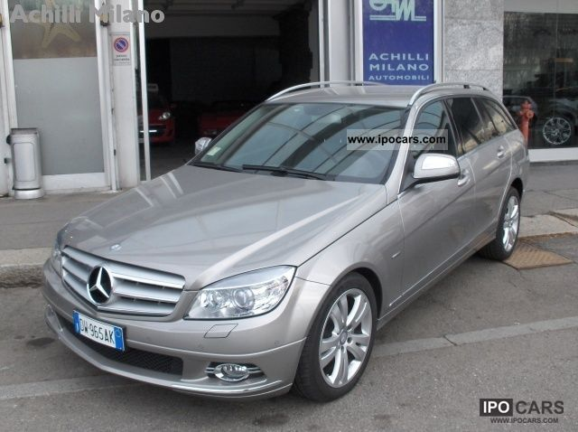 2009 mercedes benz c 220 cdi s w blueefficiency avantgarde car photo and specs. Black Bedroom Furniture Sets. Home Design Ideas