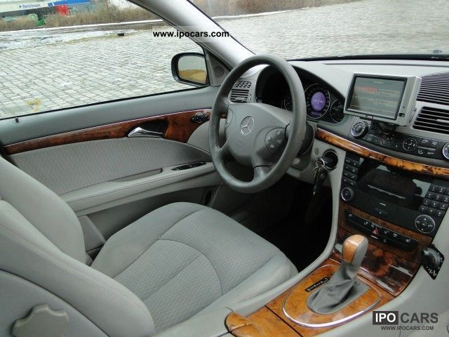 2002 mercedes-benz e-class 270 cdi elegance automaat - car photo