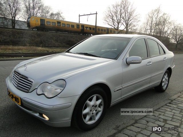 2002 mercedes benz c class 180 kompressor elegance car. Black Bedroom Furniture Sets. Home Design Ideas