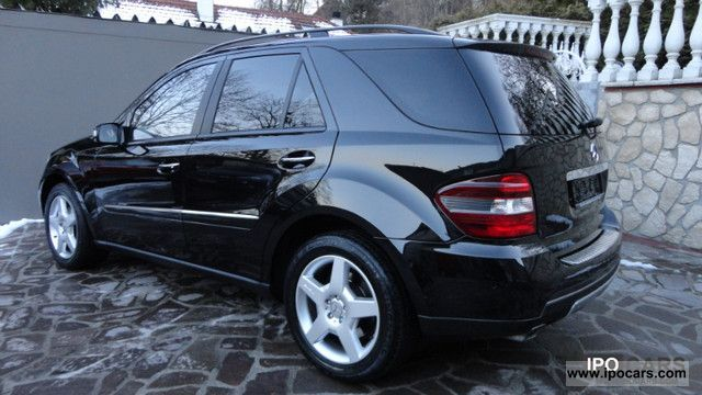 2006 mercedes benz ml 320 cdi 4matic sport package amg 19 amg 1 hand car photo and specs. Black Bedroom Furniture Sets. Home Design Ideas