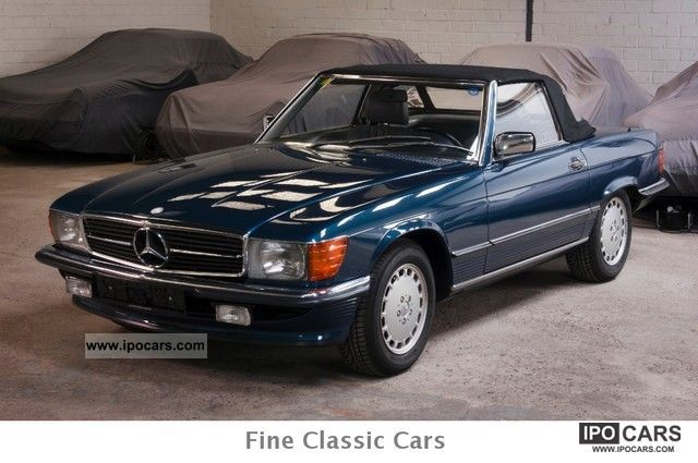 1988 Mercedes Benz 300 Sl Full Service History Car