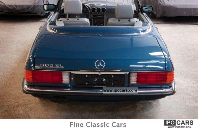 1988 mercedes benz 300 sl full service history car for Mercedes benz f service