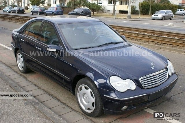 2001 mercedes benz c 240 elegance automatic air for Mercedes benz c 240