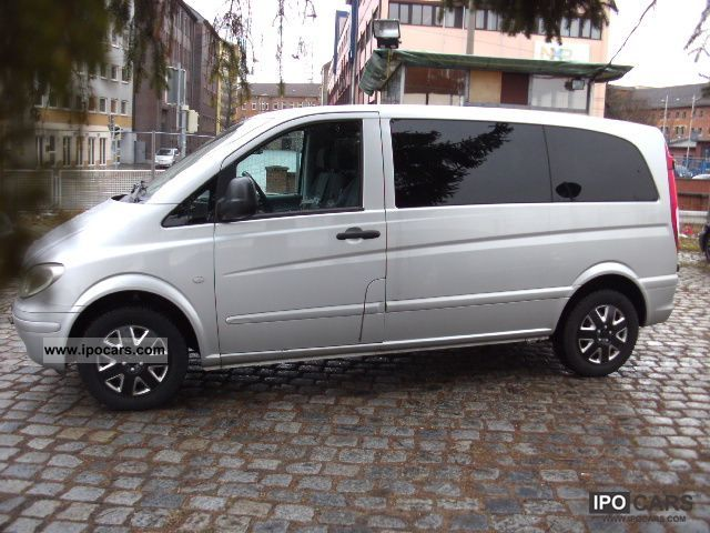 2005 mercedes benz vito 115 cdi compact car photo and specs. Black Bedroom Furniture Sets. Home Design Ideas