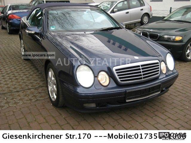 2000 mercedes benz clk 230 kompressor avantgarde car. Black Bedroom Furniture Sets. Home Design Ideas