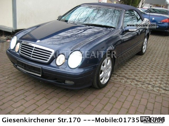 2000 mercedes benz clk 230 kompressor avantgarde car photo and specs. Black Bedroom Furniture Sets. Home Design Ideas