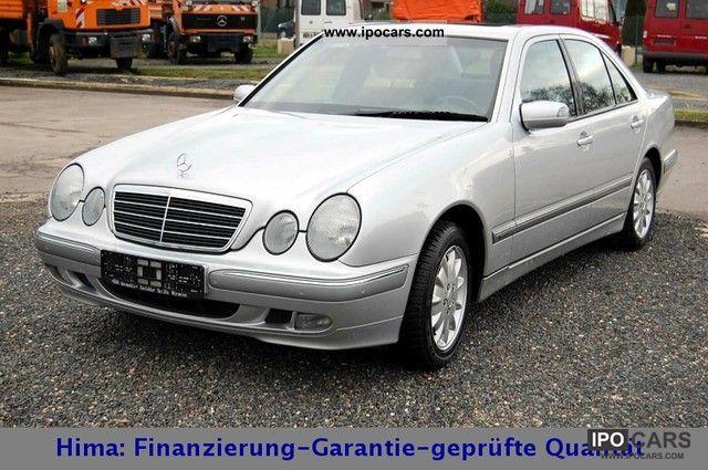 2000 Mercedes-Benz  E 320 CDI Elegance * Klimaautom * SSD * AHK * PDC * Limousine Used vehicle photo