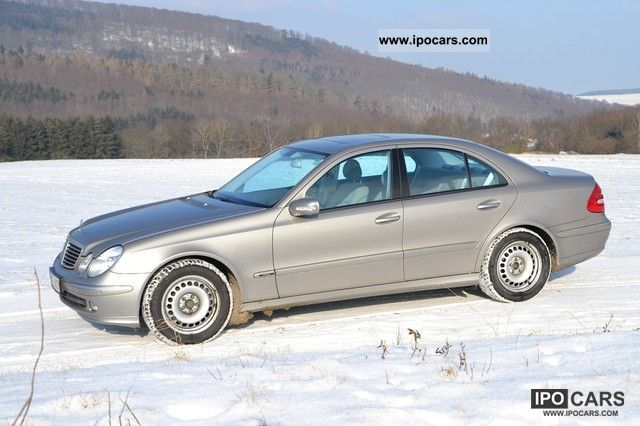 2004 Mercedes-Benz  E 350 Avantgarde 7G-TRONIC steering wheel heating 65tkm Limousine Used vehicle photo