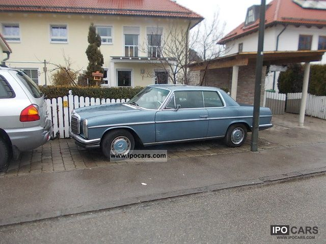 Mercedes-Benz  280 CE Coupe W114 line 8 1973 Vintage, Classic and Old Cars photo