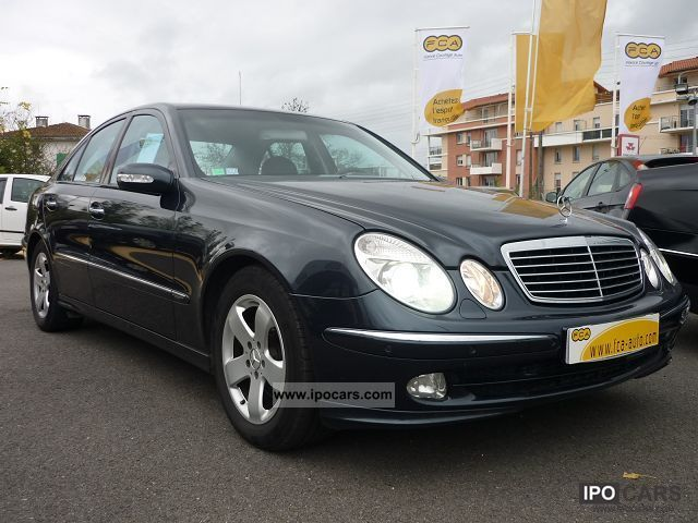 2004 Mercedes-Benz  E CLASS (W211) 270 CDI AVANTGARDE BA Limousine Used vehicle photo