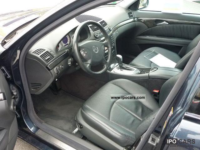 2004 Mercedes Benz E Class W211 270 Cdi Avantgarde Ba