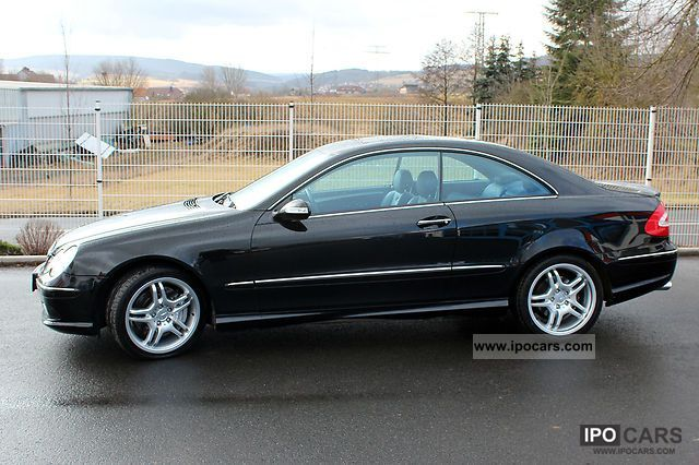2004 mercedes benz clk 55 amg coupe car photo and specs