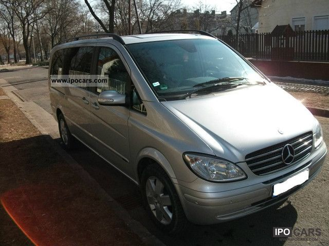 2004 Mercedes-Benz  Viano 2.2 CDI Ambiente auto leather DPF PDC Van / Minibus Used vehicle photo