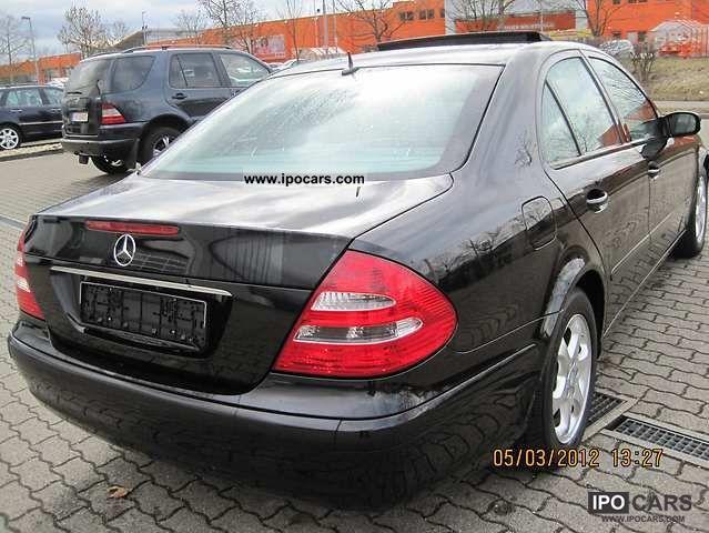 2005 mercedes benz e 200 kompressor automatic 8 fold for Mercedes benz kompressor 2005