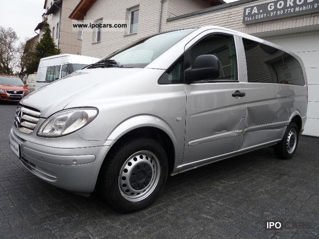 2005 mercedes benz vito 115 cdi air car photo and specs. Black Bedroom Furniture Sets. Home Design Ideas