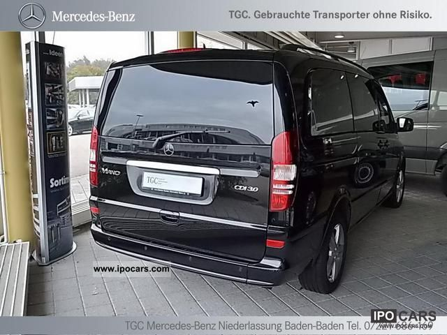 2010 mercedes benz viano 3 0 cdi trend 39 new model 2011. Black Bedroom Furniture Sets. Home Design Ideas