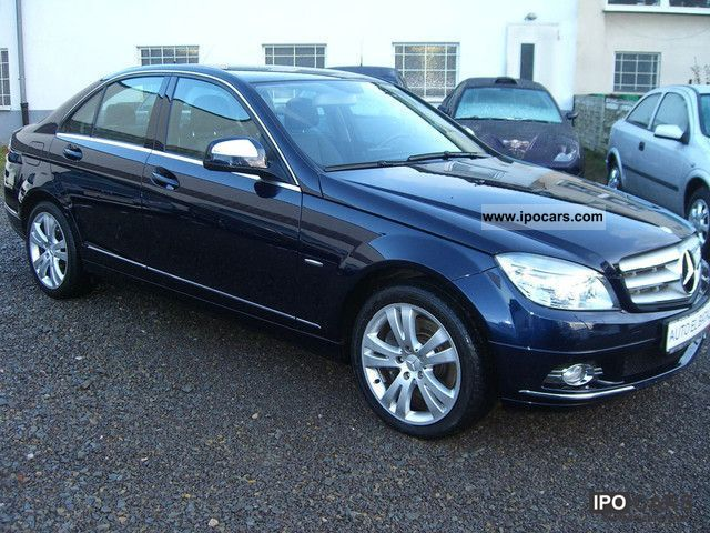 2007 mercedes benz c 320 cdi avantgarde dpf 7g tronic full full car photo and specs. Black Bedroom Furniture Sets. Home Design Ideas