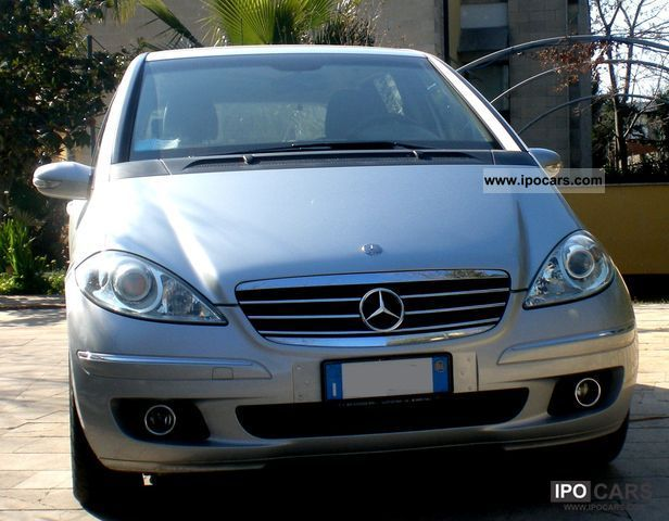 2005 mercedes benz mercedes a 160 cdi avantgarde class. Black Bedroom Furniture Sets. Home Design Ideas