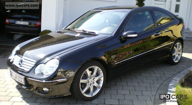 2005 mercedes benz c 220 cdi sports coupe sport edition dpf car photo and specs. Black Bedroom Furniture Sets. Home Design Ideas