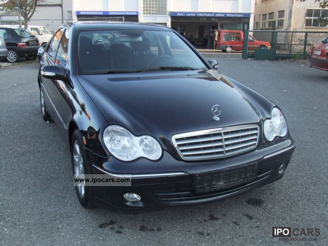 2005 mercedes benz c 200 cdi elegance dpf navi comand car photo and specs. Black Bedroom Furniture Sets. Home Design Ideas