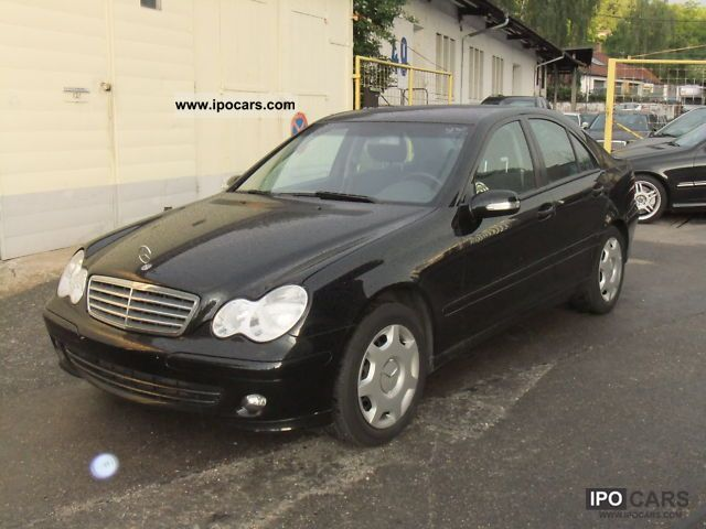 2006 mercedes benz c 200 cdi classic dpf navi comand car photo and specs. Black Bedroom Furniture Sets. Home Design Ideas