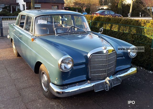 Mercedes-Benz  190 c tailfin 1962 Vintage, Classic and Old Cars photo