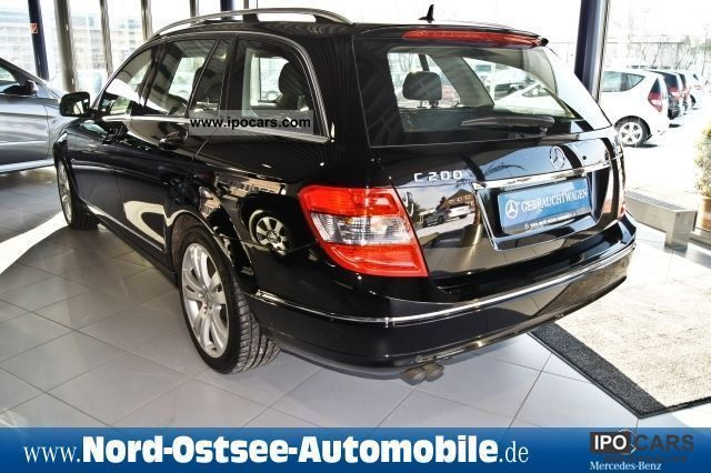 2008 mercedes benz c 200 t cdi avantgarde automatic panoramic shd car photo and specs. Black Bedroom Furniture Sets. Home Design Ideas