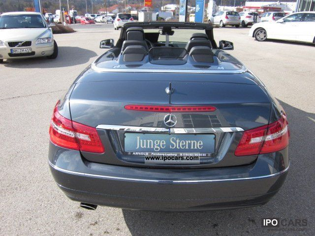 2011 mercedes benz e 200 cgi be avantgarde convertible navi leather pts car photo and specs. Black Bedroom Furniture Sets. Home Design Ideas