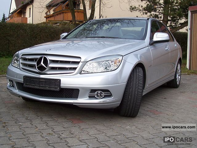 2008 mercedes benz c 230 avantgarde car photo and specs for Mercedes benz c230 2008