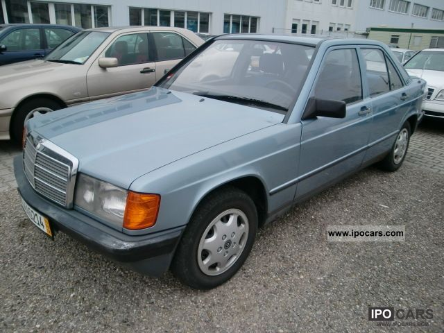 1987 mercedes benz 190d 2 5 euro2 automatic sunroof for Mercedes benz 190d