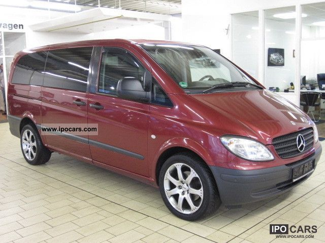 2007 Mercedes-Benz VITO 120 CDI LONG AUTO DPF + NAVI + +18' Klimaaut AL - Car Photo and Specs