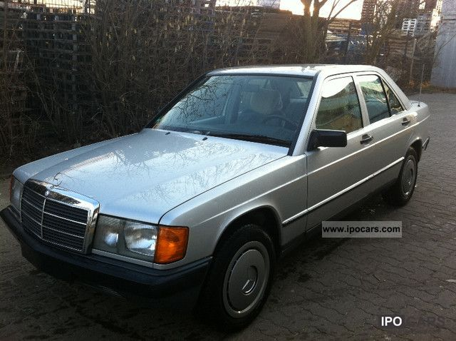 1985 Mercedes-Benz  190 / 2. Hand / Good Condition Limousine Used vehicle photo