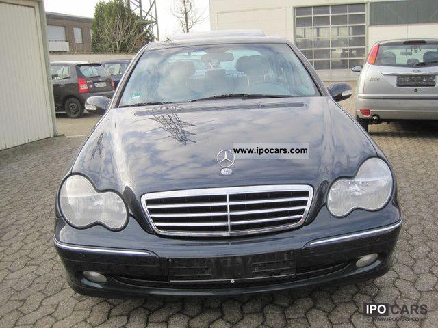 2001 mercedes benz c 200 k avantgarde auto parktronic eshd for Mercedes benz parktronic