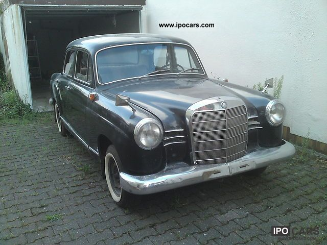 Mercedes-Benz  Ponton 180b 1962 Vintage, Classic and Old Cars photo