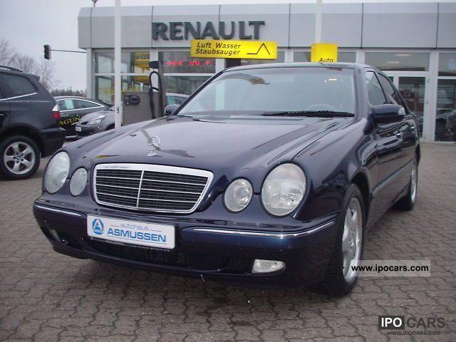 2002 mercedes benz e 280 elegance navi sunroof for Mercedes benz sunroof