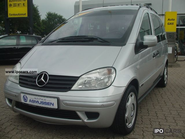 2003 mercedes benz vaneo 6 1 family car photo and specs On mercedes benz family van
