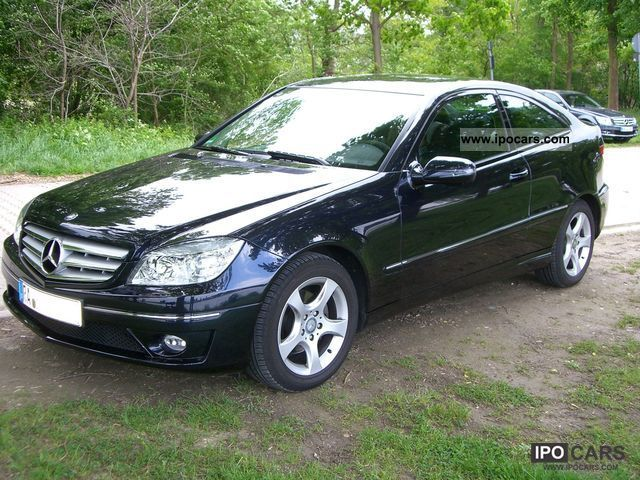 2009 mercedes benz clc 220 cdi dpf car photo and specs. Black Bedroom Furniture Sets. Home Design Ideas