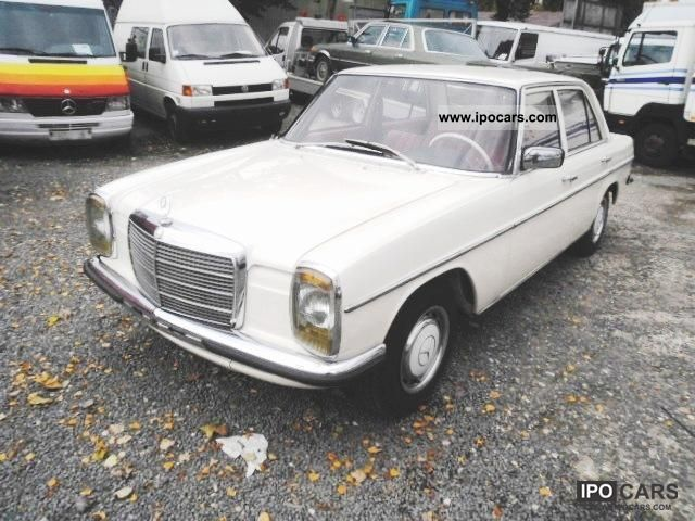 Mercedes-Benz  200/8 1974 Vintage, Classic and Old Cars photo