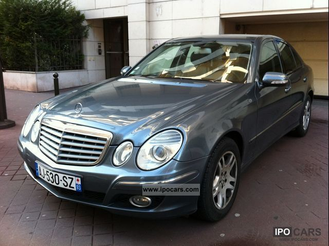 2007 mercedes benz e class w211 e 220 cdi elegance ba car photo and specs. Black Bedroom Furniture Sets. Home Design Ideas