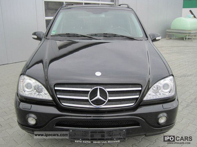 2002 Mercedes Benz Ml 500 Amg Car Photo And Specs