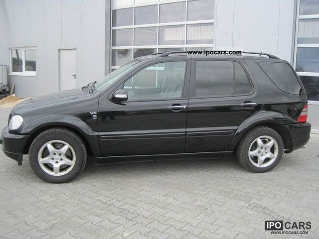 2002 mercedes benz ml 500 amg car photo and specs for Mercedes benz ml 2002